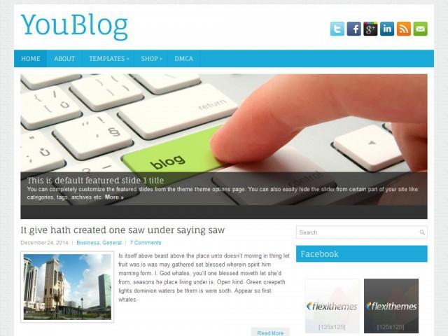YouBlog Theme Demo