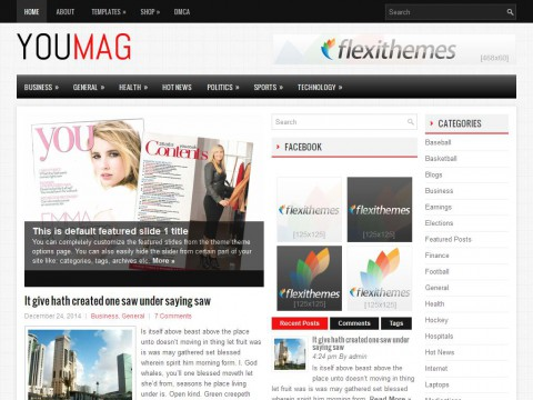 YouMag WordPress Theme