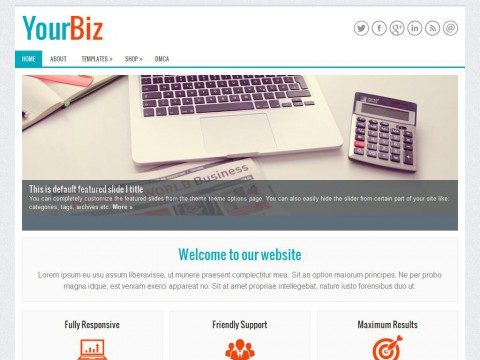 YourBiz WordPress Theme