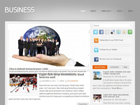 YourBusiness WordPress Theme