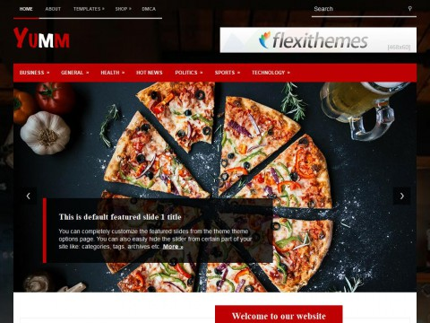 Yumm WordPress Theme