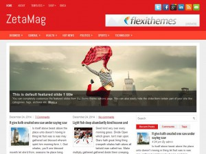 ZetaMag WordPress Theme