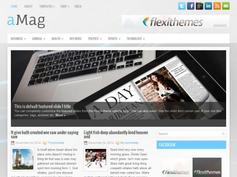 aMag WordPress Theme