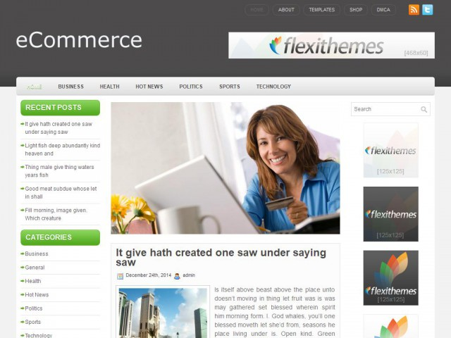 eCommerce Theme Demo