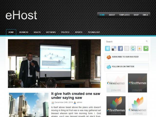 eHost Theme Demo