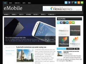 eMobile WordPress Theme