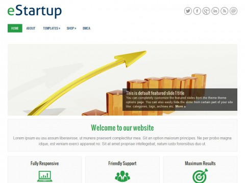 eStartup WordPress Theme