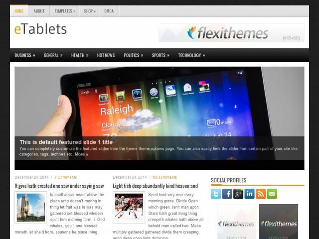 eTablets Theme Demo