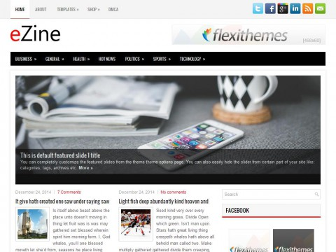 eZine WordPress Theme