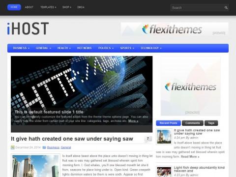 iHost WordPress Theme