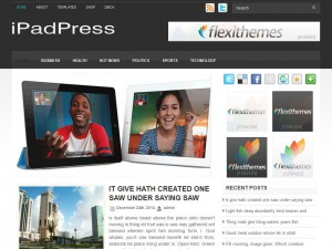 iPadPress WordPress Theme