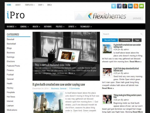 iPro WordPress Theme