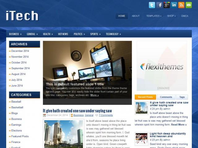 iTech Theme Demo
