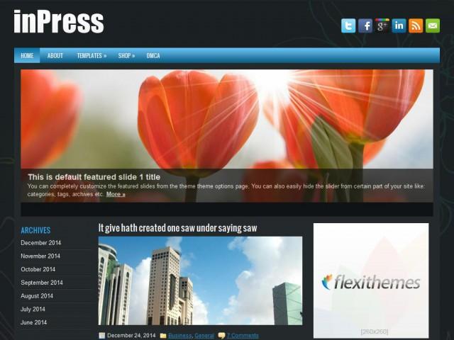 inPress Theme Demo