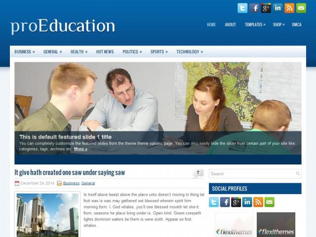Education Free WordPress Theme