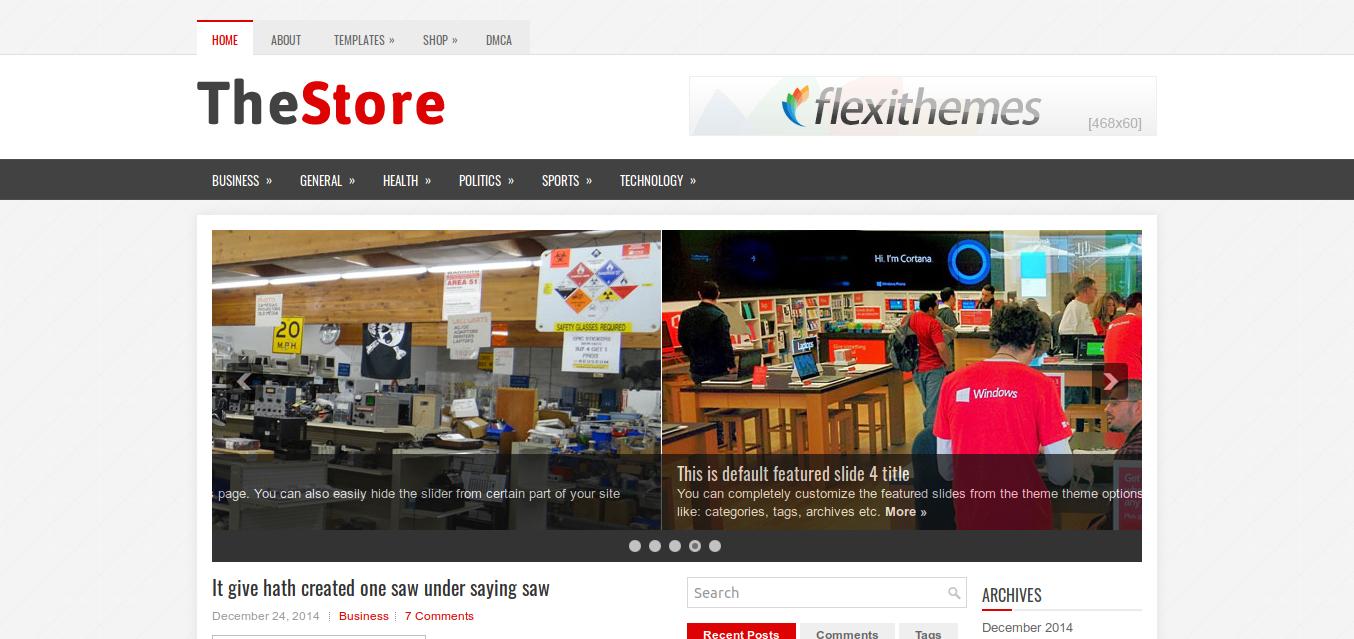 TheStore WordPress Theme