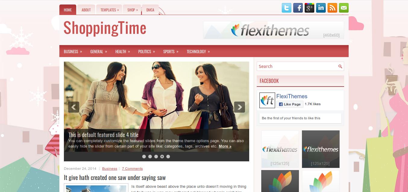 ShoppingTime WordPress theme