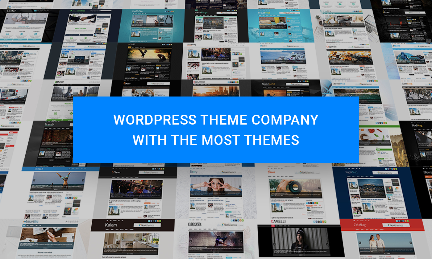 Which WordPress Theme Company Has the Most Themes?