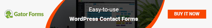 GatorForms - Easy to use WordPress Contact Forms