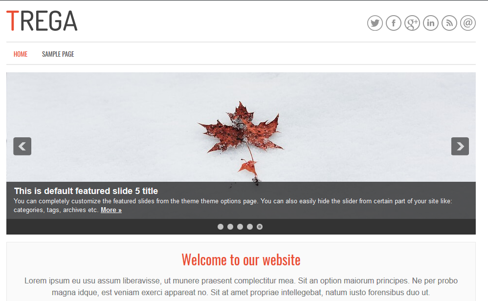 The WordPress Theme is now live!